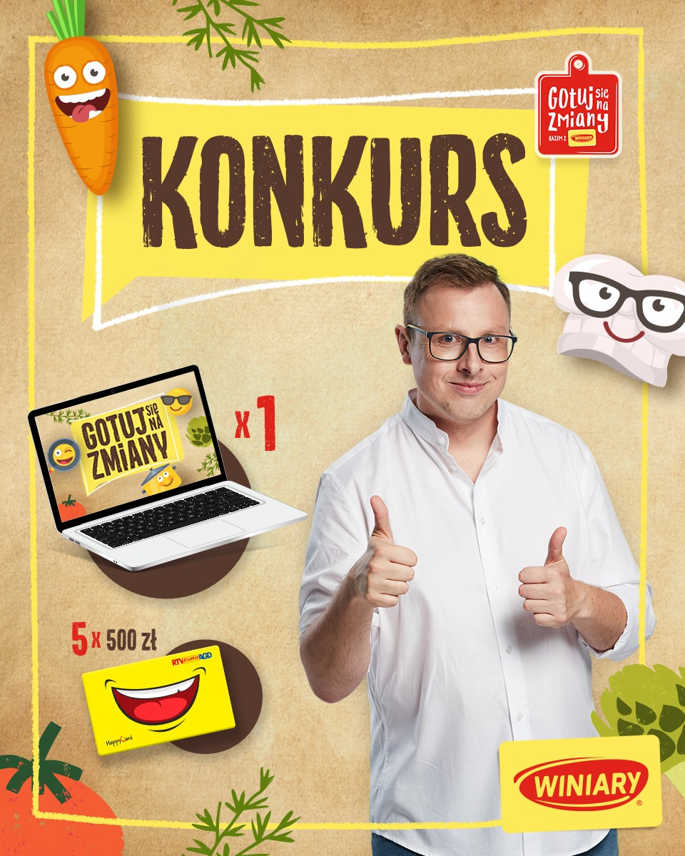 konkurs FB laptop
